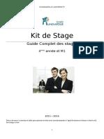 Kit de Stage 4ème Année Et M1