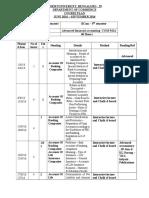 Com542A Course Plan.