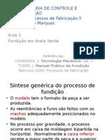 2013-2 Proc Fabr - Aula 3 - Areia Verde