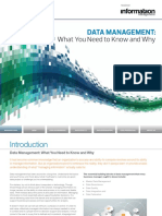 Data Management What You Need to Know 107331
