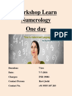 Learn numerology,numerology classes,numerology lesson