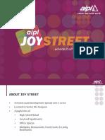 Joy Street Presentation