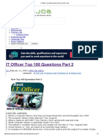 IT Officer Top 100 Questions Part 2 _ UPSC Jobs