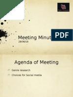 Meeting Minutes 28/06/16