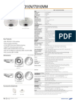 SNF-7010 7010V Specifications