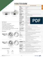 SNF 7010 7010V 7010VM Specifications