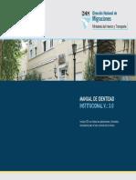 Manual de Identidad Institucional (Ministerio Del Interior y Transporte)