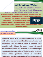 Flavoured Drinking Water, Beverage – Non Alcoholic, Purified Water Containing Natural Flavours, Fruit-Flavoured Water, Value-Added Flavored Water Manufacturing Plant, Detailed Project Report, Profile, Business Plan, Industry Trends, Market Research, Survey, Manufacturing Process, Machinery, Raw Materials, Feasibility Study, Investment Opportunities, Cost and Revenue, Plant Economics, Production Schedule, Working Capital Requirement, Plant Layout, Process Flow Sheet, Cost of Project, Projected Balance Sheets, Profitability Ratios, Break Even Analysis
