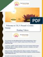 cosmic energy healing videos