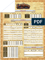 EQ Character Sheet