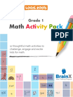 Math Activity Printable Worksheets on Counting, Addition and Subtraction for Kids