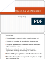 Housing and Capitalization