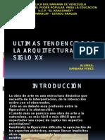 Arquitectura Del Siglo Xx segun Rafael Bravo H. y Centro de Copiado HY Peña