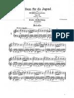 Partituras romanticismo piano