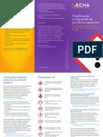 ECHA (European Chemical Agency) Clasificación y etiquetado de productos químicos.pdf