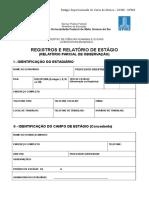Relatório Parcial (Observação) 2016