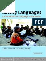 Saving Languages