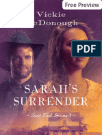 Free Preview - Sarah's Surrender by Vickie McDonough