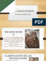 EXCAVACIONES - Procesos Construcción