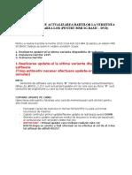 TUTORIAL PENTRU ACTUALIZAREA HARTILOR LA VERSIUNEA 2015 SI ACTIVAREA LOR.doc