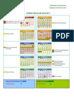 Calendario Escolar Cádiz 2016-2017 - Notilogía