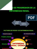 Factores de progresión, evaluación y clasificación ERC
