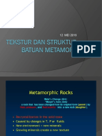 Analisis Tekstur Bt Metamorf