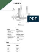 Chapter 3 Crossword
