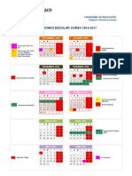 Calendario Escolar Granada 2016-2017 - Notilogía