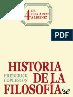 Copleston, Frederick - [Historia de La Filosofia 04] de Descartes a Leibniz