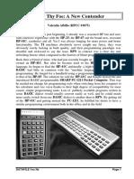 Sharp Pc-1211 Hp41c