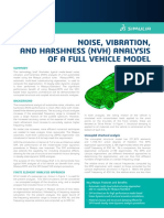 Auto Noise Vibration Harshness Analysis Full Vehicle