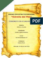 Terremoto de Ecuador de 2016