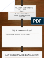 Psicología Educativa Clase 4