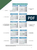 Calendario Escolar Málaga 2016-2017 - Notilogía