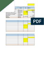 Plantilla de Excel Eph