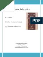 Gandhi Towards New Education
