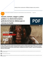 EL MOSTRADOR -Incesto, Tortura, Sangre y Poder Político