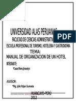 manual de organizacion de gestion