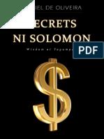 Filipino - Secrets Ni Solomon