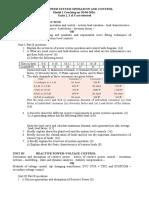 Model 1 Coaching of Psoc