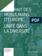 Vincent Tournier - Portrait des musulmans d'Europe