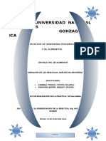 Analisis de Proteínas