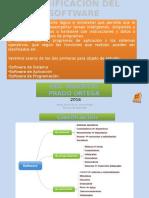 Clase de Clasificacion Del Software