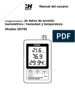 Datalogger Extech SD700_UMsp