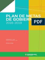 Plan de Metas 2016-2019