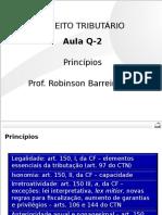 Questões Práticas - Tributário - Aula 02 Princípios