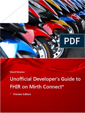 Unofficial Developer's Guide to FHIR on Mirth Connect | Json
