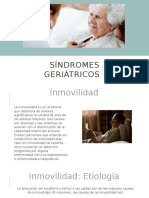 Síndromes geriátricos ppt