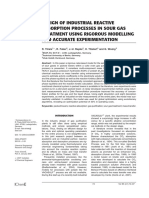 Design of Industrial asorption reactive.pdf